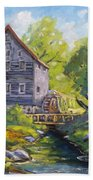Old Watermill Bath Towel
