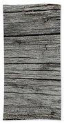 Old Weathered Wood Board Hand Towel