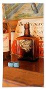 Old Whiskey Bath Towel