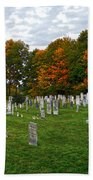 Old Yard Cemetery Stowe Vermont Hand Towel