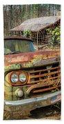Oldie But Goodie 1959 Dodge Pickup Truck Bath Towel