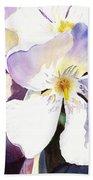 Oleander Flower By Irina Sztukowski Bath Towel