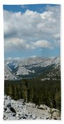 Olmsted View Down The Tree Filled Road Bath Towel