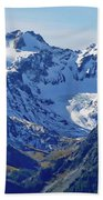 Olympic Mountains Bath Towel