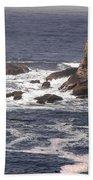 Olympic Peninsula Coastline Bath Towel