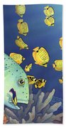 Omilu Bluefin Trevally Hand Towel