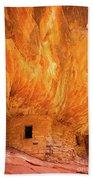 On Fire Bath Towel