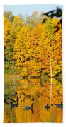 On Golden Pond 2 Bath Towel