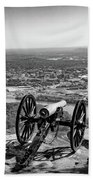 On Guard At Point Park Lookout Mountain In Tennessee Bath Towel