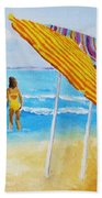 On The Beach Bath Towel