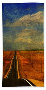 On The Road Again Hand Towel