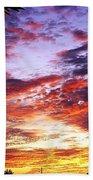 One Dawn Autumn Sky Bath Towel