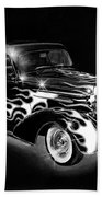 One Hot 1936 Chevrolet Coupe Bath Towel