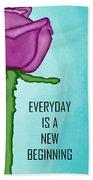 One Rose Everyday Bath Towel