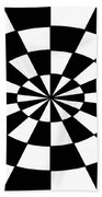 Op Art Bath Towel