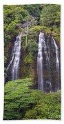 Opaekaa Falls - Kauai Bath Towel