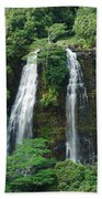 Opaekaa Waterfall Bath Towel