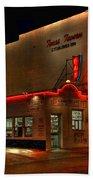 Open All Nite-texas Tavern Bath Towel