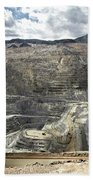 Open Pit Mine, Utah, United States Bath Towel