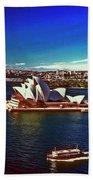 Opera House Sydney Austalia Bath Towel