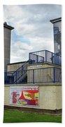 Operation Motorman Mural In Derry Bath Towel