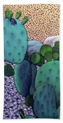 Opuntia Bath Towel