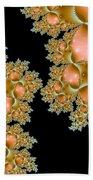 Orange Corals Bath Towel