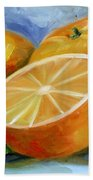 Oranges Bath Towel