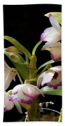 Orchid Blooms Bath Towel