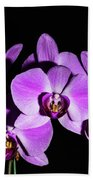 Orchid Blossoms IIi Bath Towel