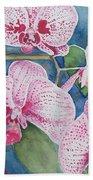 Orchids Bath Towel