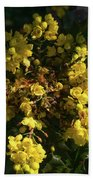 Oregon Grape Flowers Bath Towel