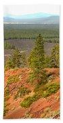 Oregon Landscape - View From Lava Butte Bath Towel