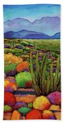 Organ Pipe Bath Towel