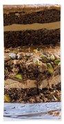 Organic Coffee And Pistachio Cake A Bath Towel