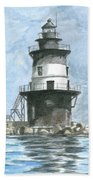 Orient Point Lighthouse Bath Towel