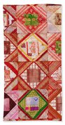 Oriental Patchwork Tapestry Bath Towel