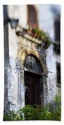 Ornate Italian Doorway Bath Towel