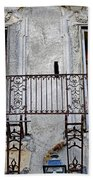 Ornate Weathered Artistic Architecture Bath Towel
