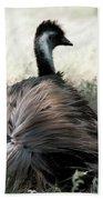 Ostracized Ostrich Bath Towel