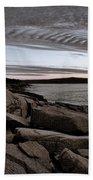 Otter Cliffs Dawn #5 Hand Towel