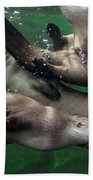 Otter Traffic Jam Bath Towel