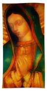 Our Lady Of Guadalupe Hand Towel
