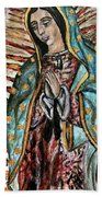 Our Lady Of Guadalupe Bath Towel