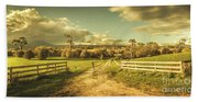 Outback Country Paddock Bath Towel