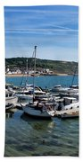 Outer Harbour - Lyme Regis Bath Towel