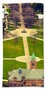 Oval At University Of Montana  Bath Towel