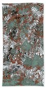 Overactive Christmas Celebration - V1slf100 Bath Towel