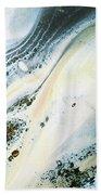Overcast Sea Abstract Bath Towel