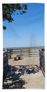 Overlooking Sarasota Bay Bath Towel